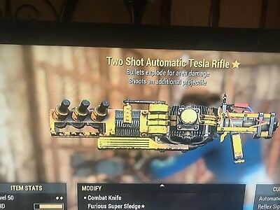Fallout 76 Ps4 Weapons