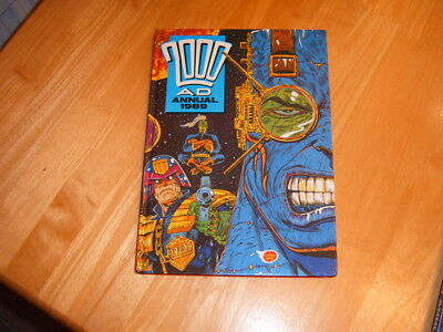 2000AD 1989 hardback annual in Excellent condition