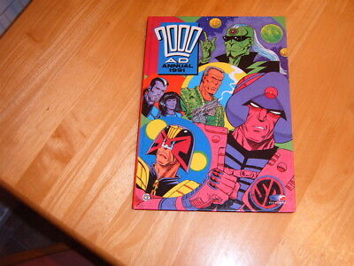 2000AD 1991 hardback annual in very good condition