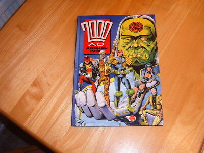 2000AD 1990 hardback annual in Excellent condition