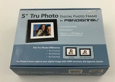 Pandigital 5-Inch Digital Picture Photo Frame (Black) - New in Box