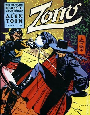Complete Classic Adventures of Zorro TPB (Image) By Alex Toth 2-1ST 1998 NM