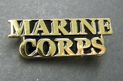 Usmc Marine Corps Us Marines Script Lapel Pin Badge 1.5 Inches