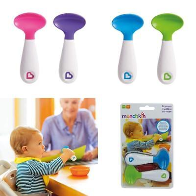Munchkin Infant Scooper Spoons, Assorted Colours