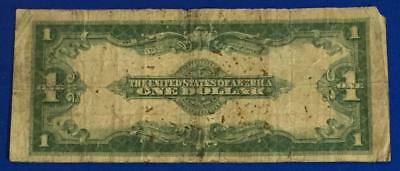 "1923 $1 Blue ""LARGE SIZE"" SILVER Certificate ""HORSEBLANKET"" X784 Rough Currency"