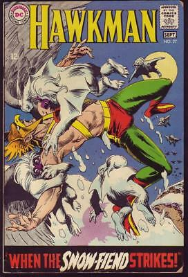 Hawkman #27 Art by Joe Kubert VG 4.0