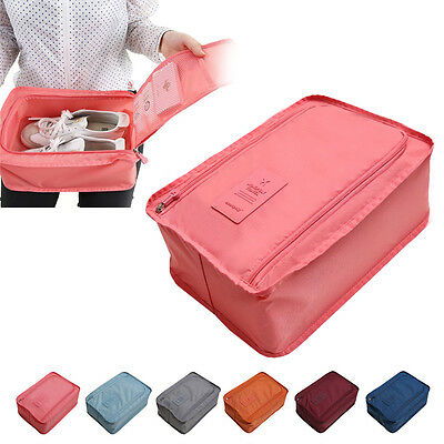 New Travel Organiser Portable Tote Shoes Pouch Waterproof Storage Bag CH