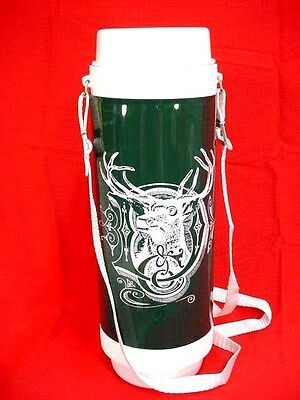 John Deere Old Deer In D Logo Thermos - 20+ Yrs Old - New In Box