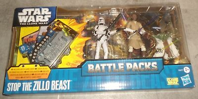 Star Wars - The Clone Wars - Battle Packs - Stop the Zillo Beast - OV - NEW
