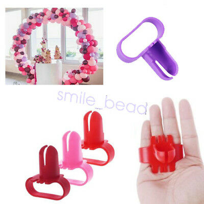 Easy To Use Knot Tying Tool For Latex Balloons Party Supplies Balloon Tie Clips