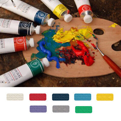 50ml 8 Colors Oil Paint Set Professional Artist Paints Painting Pigment Supplies