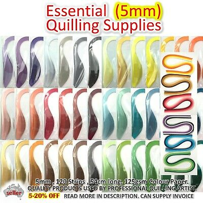 Paper Quilling Strips 5mm Lucky Star Paper Craft DIY Gift Quiling Supplies Craft