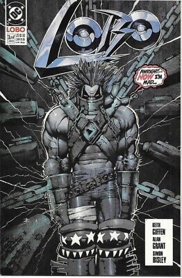 Lobo Comic Book Limited Series #3 DC Comics 1991 VERY FINE NEW UNREAD