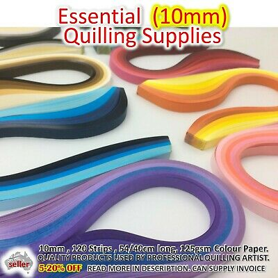 10mm Paper Quilling Strips Lucky Star Paper Craft DIY Gift Quil Supplies Craft