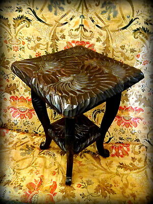 Antique Arts & Crafts Japanese Occasional Table for Liberty & Co c1880s
