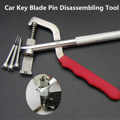 Universal Metal Plier Car SUV Key Blade Pin Disassembling Plier Locksmith Tools