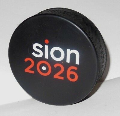 OLYMPICS APPLICANT CITY 2026 SION * WINTER olympic games hockey puck KOREA 2018