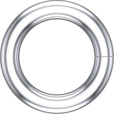 14kt White Gold 5mm ID Round Jump Ring Round Jump Ring 5mm Long