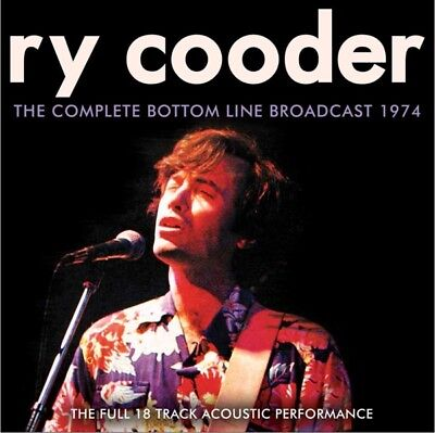 Ry Cooder - The Complete Bottom Line Broadcast CD Hobo NEW