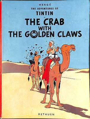 The Adventures Of Tintin: The Crab with The Golden Claws, Herge, Good Condition