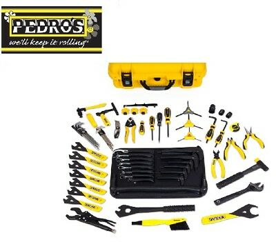 Pedros Bike Workshop Tools - Master Tool Kit 3.1 - Carry Case With 70 Tools