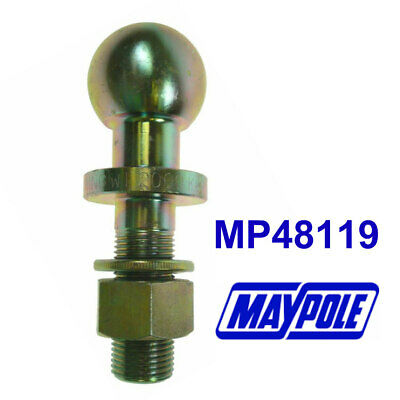 50mm Ball Threaded Towbar Tow Ball Shank 70mm x 25.4mm