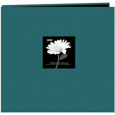 """Pioneer Fabric Frame Post Bound Album 12""""x12""""-majestic Teal"""