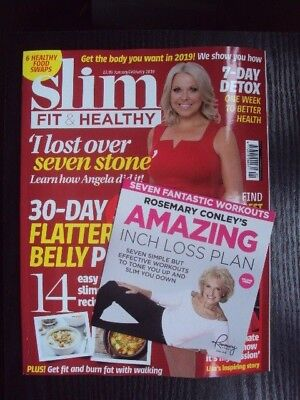 Slim Fit & Healthy Magazine January  February 2019 New Free Uk Post
