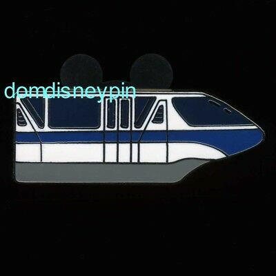 Disney Pin WDW 2005 Cast Lanyard Series *Monorails* Collection - Blue (No HM)!