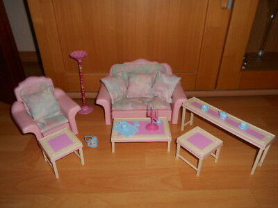 -- Barbie Sweet Roses/ Living Pretty Wohnzimmer --