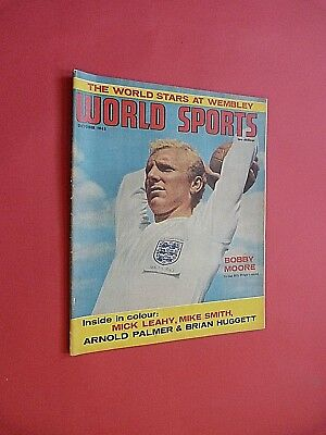WORLD SPORTS MAGAZINE. October 1963