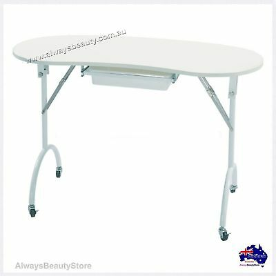 Manicure Portable Table + Drawer Hand Rest Nail Table Mobile Service Aussie Sale