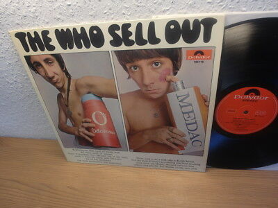 The WHO - Sell Out - Original LP 1967 - Germany Polydor 184 116 stereo