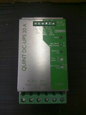 Phoenix Contact QUINT-DC-UPS/24DC/20 Uninterruptible Power Supply (UPS) 2866239