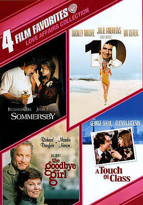"""4 Film Favorites: Love Affairs [""""10"""", The Goodbye Girl, Sommersby, A Touch of Cl"""