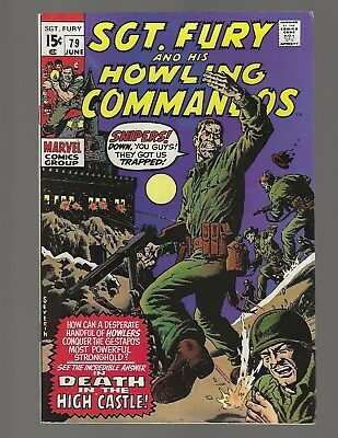 Sgt Fury And His Howling Commandos #79 Death In The High Castle