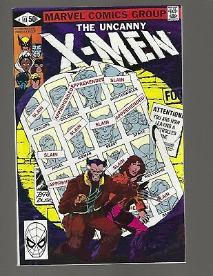 X-Men #141 Days Of Future Past