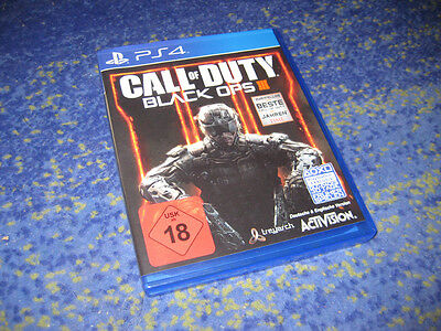 Sony Playstation 4 PS4 Call Of Duty Black Ops III 3 USK 18 Deutsche Version
