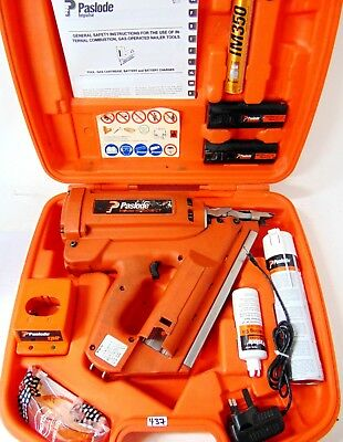 Paslode IM350 Cordless First Fix Framing Nail Gun Gas Nailer