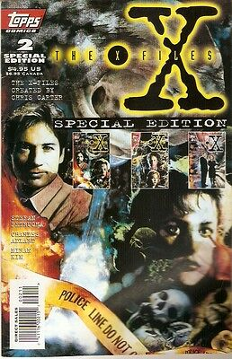 X-Files Akte X Comic USA Topps Special Edition 2