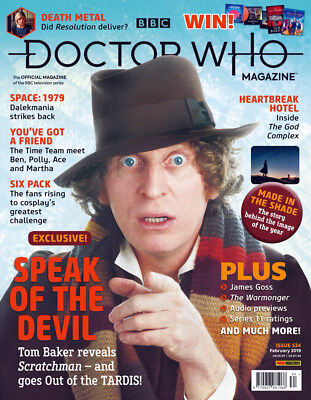 Doctor Who Magazine February 2019 (Issue 534) New...fast Post