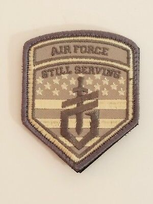US Air Forces Still Serving Military Patch NEW