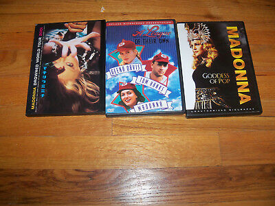 Madonna CD Lot A League of Their Own/Goddess of Pop/Drowned World Tour 2001