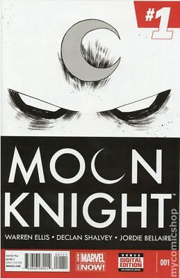 Moon Knight (5th Series) 1A 2014 Shalvey Variant FN Stock Image