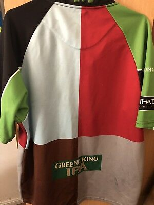 Official Licensed Oneills Harlequins Rugby Jersey Multicoloured