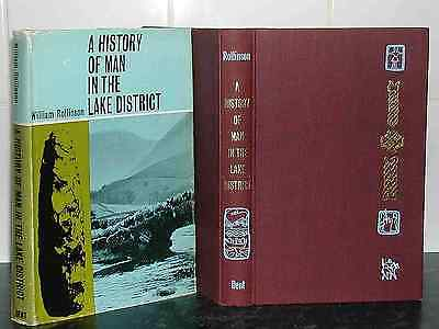 HISTORY of MAN in LAKE DISTRICT William Rollinson LAKELAND HB 1st Ed Archaeology