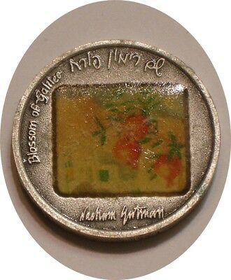 BLOSSOM OF GALILEE .999 Fine SILVER Medal of Israel