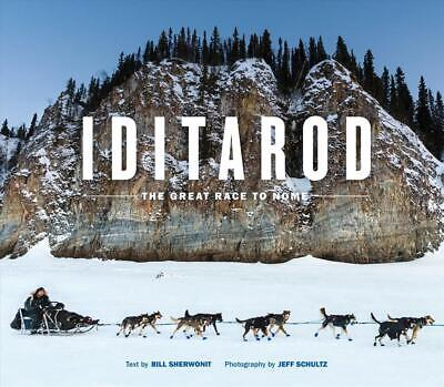 Iditarod by Bill Sherwonit Paperback Book Free Shipping!