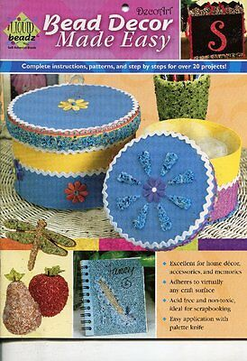 Book - Bead Decor Made Easy  By Decorart