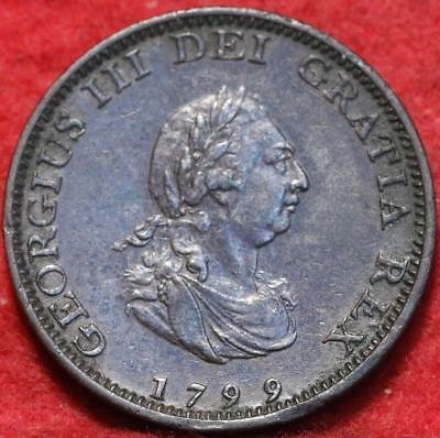 1799 Great Britain 1 Farthing Foreign Coin